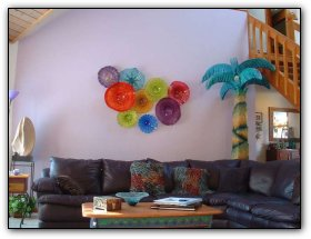 : glass blown wall art - www.pureclipart.com